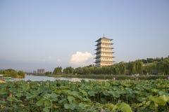 XI. 'expo ogród, changan wierza obrazy stock