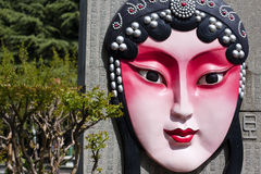 Xi'an Face Theatre. Drama mask Xi'an, Shaanxi Opera is a dramatic feature in Shaanxi Stock Photography