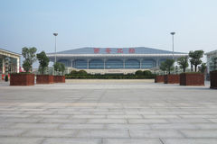 xi 'an high-speed railway station stock images