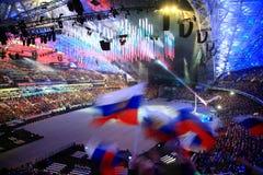 XI jeux d'hiver de Paralympic à Sotchi photo stock