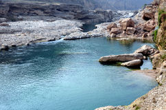 Xi'an Jinghe river canyon streams Royalty Free Stock Images