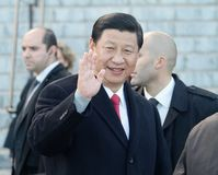 XI Jinping stockfotos