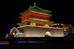 Xi'an Klocka torn Arkivbild