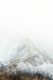 Xi Ling snow mountain China. Snow-capped snow crowned mountain peak Stock Images
