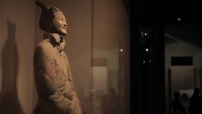 XI`AN-May 30 2012: The famous terracotta warriors of Xian, stock video footage