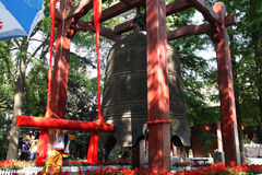 Xi 'an the morning bell in the small wild goose pagoda, clocks Stock Photo