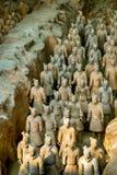 XI `, PROVINCIA DE SHAANXI, CHINA - 23 DE OCTUBRE DE 2007: El Terracott Foto de archivo libre de regalías