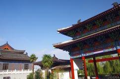 Xi 'an qinling, south five ancient buildings Stock Photo