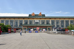 Xi'an railway station Royalty Free Stock Image