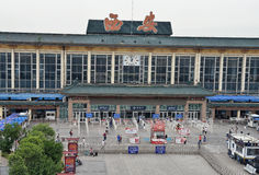 Xi'an railway station Stock Photography