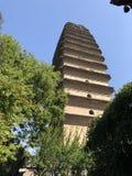 Big Goose Pagoda of China royalty free stock images