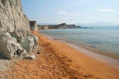 Xi spiaggia Fotografia Stock