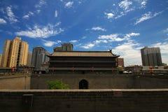 Xi'an stadsvägg Royaltyfri Bild