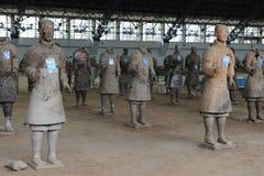 XI `, Terra Cotta Warriors Lizenzfreies Stockbild