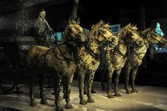 Xi 'an, the Terra Cotta Warriors here Royalty Free Stock Photography