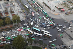 Xi 'an, traffic jam, traffic Stock Images