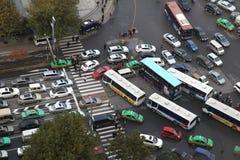 Xi 'an, traffic jam, traffic Royalty Free Stock Photography