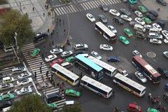 Xi 'an, traffic jam, traffic Stock Photos