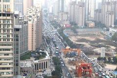 Xi 'an, traffic jam, traffic Stock Image