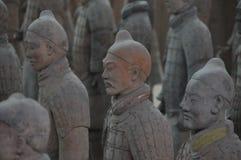 Xi& x27; krigare för en terrakottaarmé Royaltyfria Foton