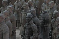 Xi& x27; krigare för en terrakottaarmé Royaltyfri Bild