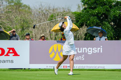 Xi Yu Lin of China in Honda LPGA Thailand 2016 Stock Images