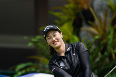 Xi Yu Lin of China in Honda LPGA Thailand 2016. CHONBURI - FEBRUARY 27 : Xi Yu Lin of China in Honda LPGA Thailand 2016 at Siam Country Club, Pattaya Old Course Stock Images
