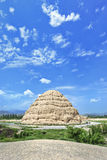 Xia Imperial Tombs occidentale province dans Yinchuan, le Ningxia, Chine image stock