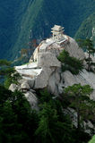 XIA QI kiosk. Is near the east peak of Mt HUA Royalty Free Stock Image