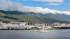 Xiaguan ή νέο Δάλι στη λίμνη Erhai Yunnan, Κίνα φιλμ μικρού μήκους