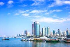 Xiamen é uma cidade popular do turista Fotos de Stock