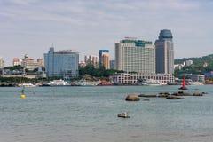 Beautiful Scene of Xiamen City Royalty Free Stock Photo