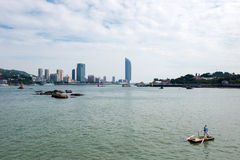 The scenery of maritime city Royalty Free Stock Images