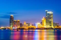 Xiamen China Cityscape Stock Photo