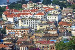 Xiamen, China Cityscape Stock Photography