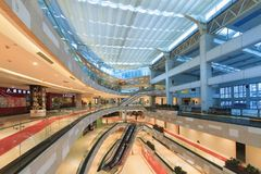 Interior Of Zhonghua City Mall Stock Images