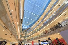 Interior Of Zhonghua City Mall Royalty Free Stock Image