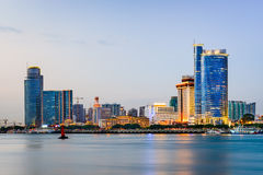 Xiamen China Skyline Stock Photo