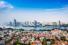 Xiamen, China Skyline Stock Images