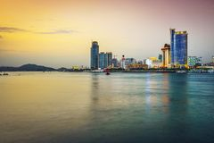 Xiamen, China Skyline Royalty Free Stock Image