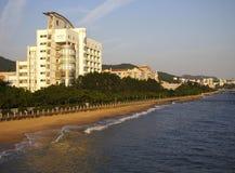 Xiamen, Cina, spiaggia Immagine Stock