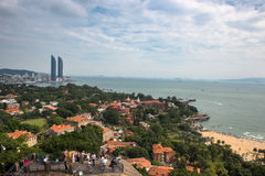 Xiamen Coastal City Stock Photography