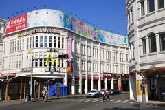 Xiamen Commercial Street,China, Royalty Free Stock Photography