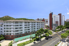 Xiamen first middle school of fujian province, china. ( adobe rgb ). The first secondary school of xiamen city, fujian province was founded in 1906. in 1953 was Royalty Free Stock Images