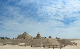Xiamen Guanyinshan piaska rzeźby Kulturalny park Fotografia Royalty Free