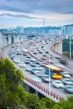 Xiamen haicang bridge closeup Stock Images