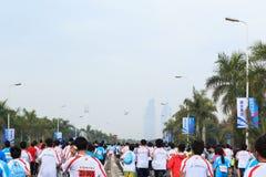 Xiamen International Marathon 2014 Stock Image