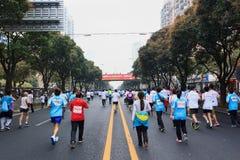 Xiamen International Marathon 2014 Stock Photo