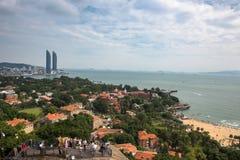 Xiamen-Küstenstadt Stockfotografie