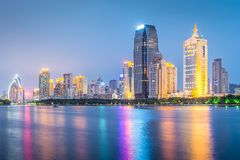 Xiamen Kina fotografering för bildbyråer